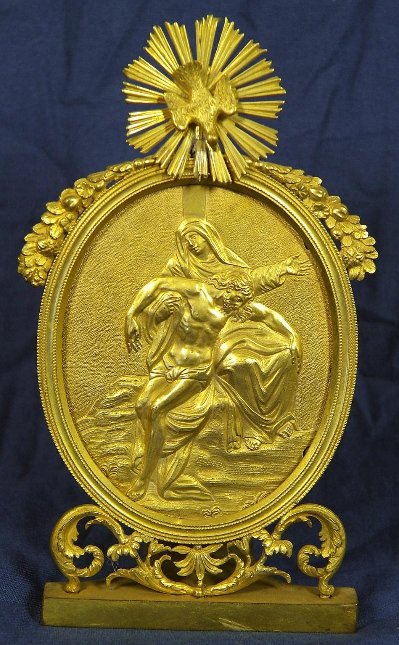 Ambito italiano sec. XIX, Pace dorata