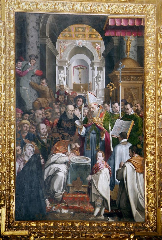 Damiani Felice (1594), Battesimo di Sant'Agostino
