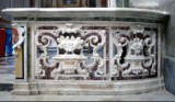Bottega campana sec. XIX, Balaustra in marmo
