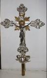 Bottega campana sec. XIX, Croce processionale