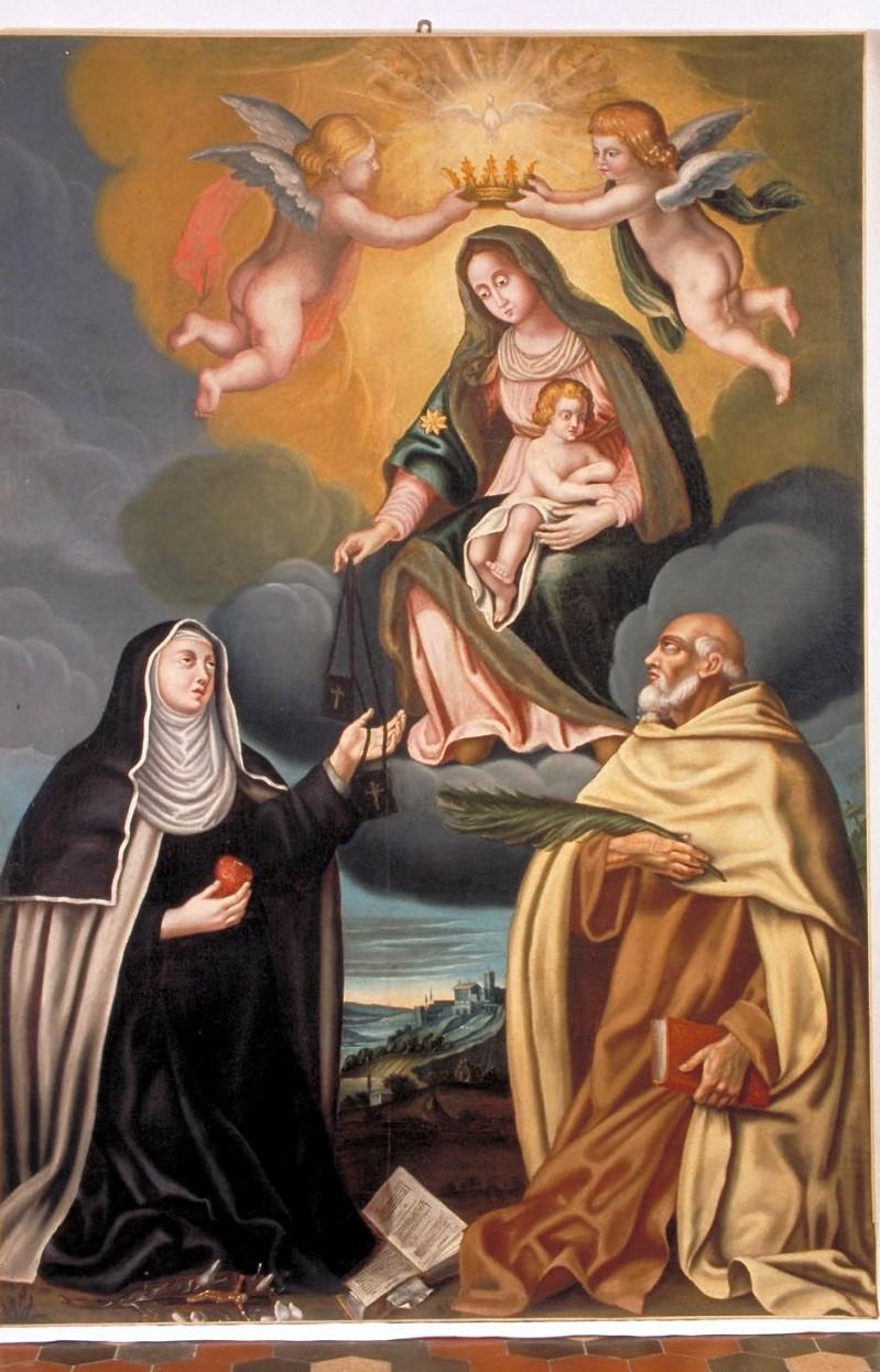 Pincellotti G. (1678), Madonna del Carmelo e Santi