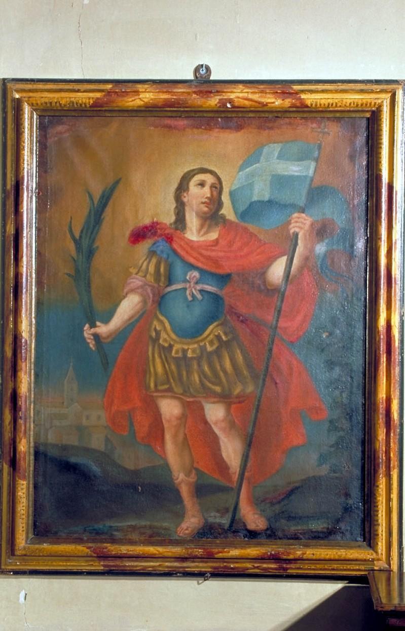 Bott. marchigiana fine sec. XVII, Cornice di San Floriano
