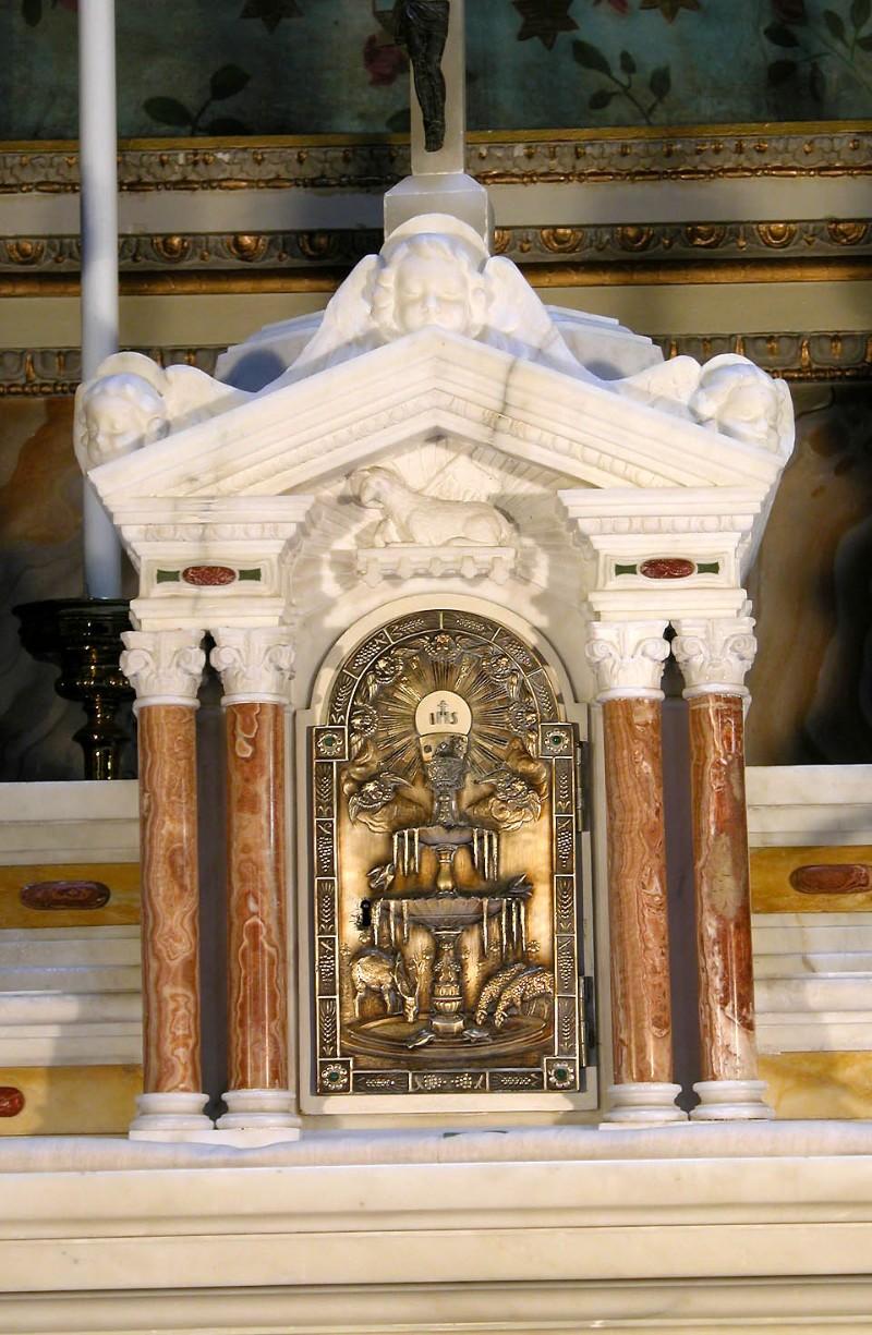 Maestranze marchigiane (1943), Tabernacolo dell'altare maggiore
