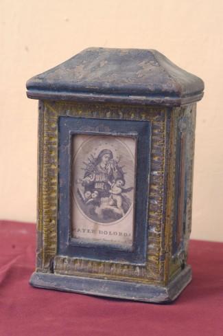 Bott. dell'Italia centrale sec. XIX, Cassetta per elemosine