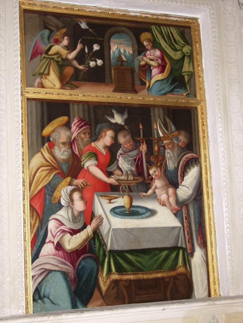 Albertini D. sec. XVIII, Presentazione di Gesù al tempio