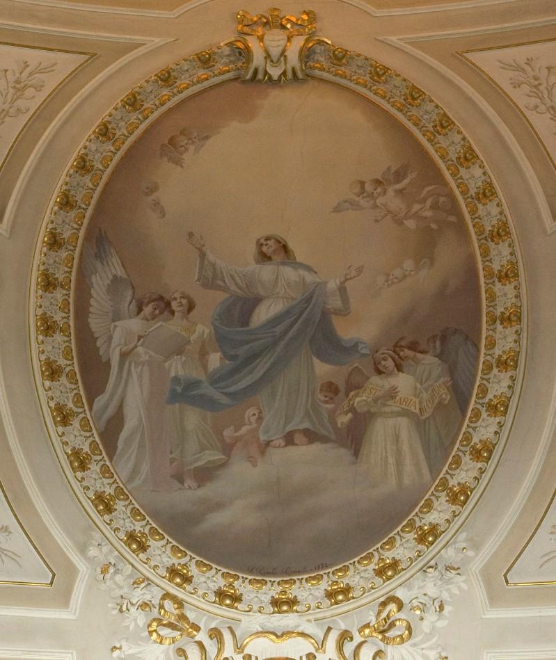 Conti Consoli S. (1932), Maria Vergine e Angeli