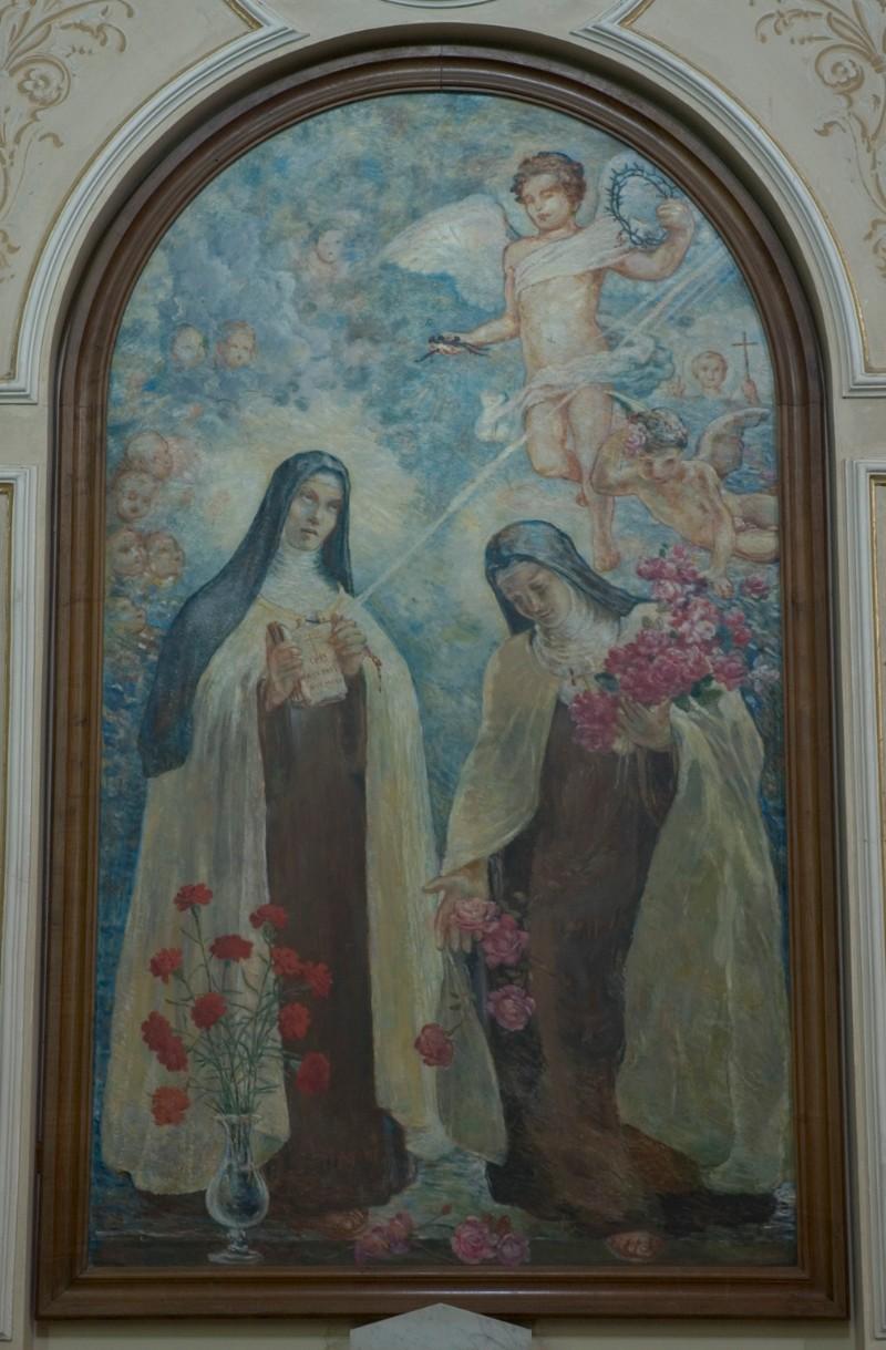 Ambito dell'Italia merid. sec. XX,Santa Teresa d'Avila e Santa Teresa di Lisieux