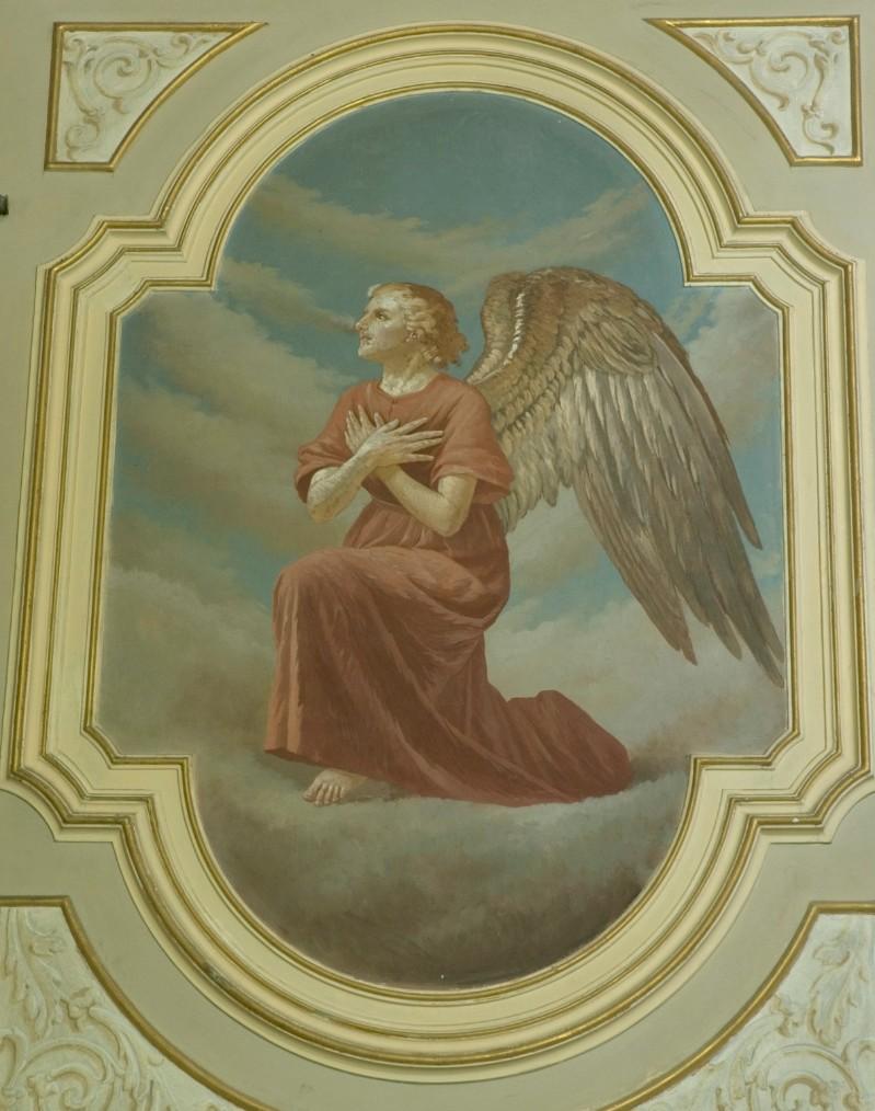 Conti Consoli S. (1932-1936), Angelo adorante con veste rossa
