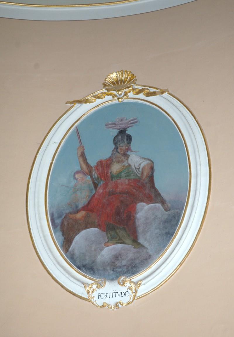Alerii A. sec. XVII, Dipinto con la fortezza