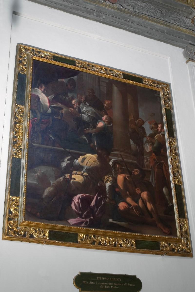Abbiati F. (1675), San Siro riceve l'investitura da San Pietro