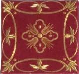 Manifattura italiana sec. XIX, Busta rossa
