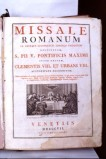 Occhi S. (1807), Messale romano