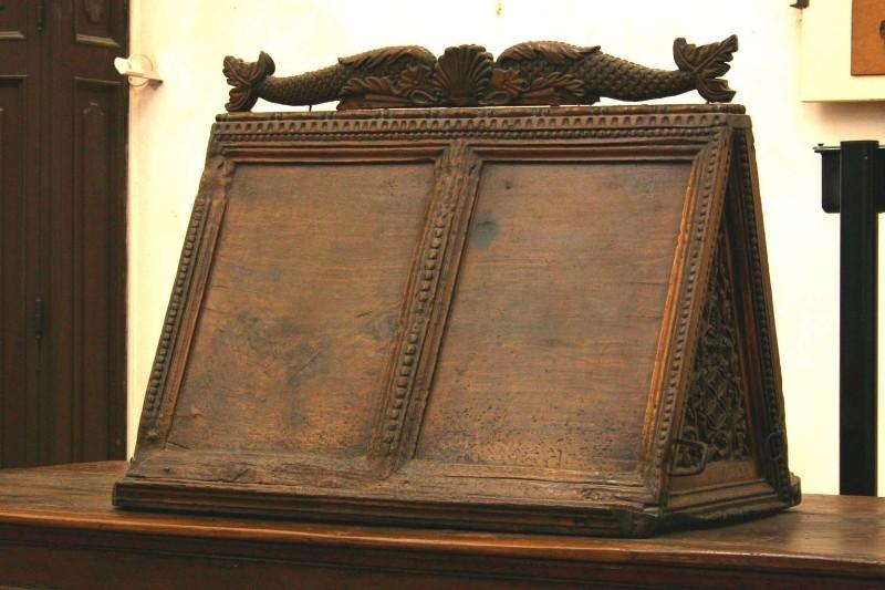 Acciaio P. (1591), Leggio da coro