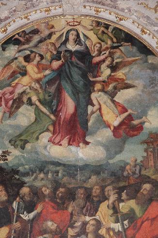 Assunzione della Vergine - Leonardo da Pistoia – 1546