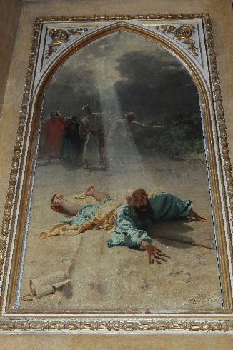 Conversione di San Paolo  - Domenico Morelli - 1876