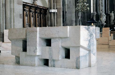 L'altare  di M. Hollrigl
