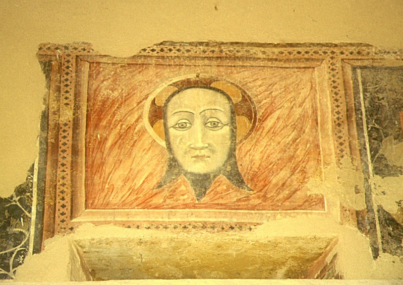 Scuola di Camerino sec. XV, Volto Santo di Cristo