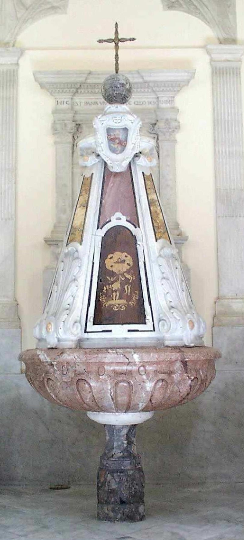 Maestranze napoletane sec. XVIII, Fonte battesimale
