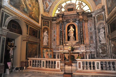 La cappella dell'Immacolata