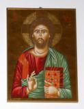 Ambito salentino sec. XX, Icona di Gesù Cristo pantocratore