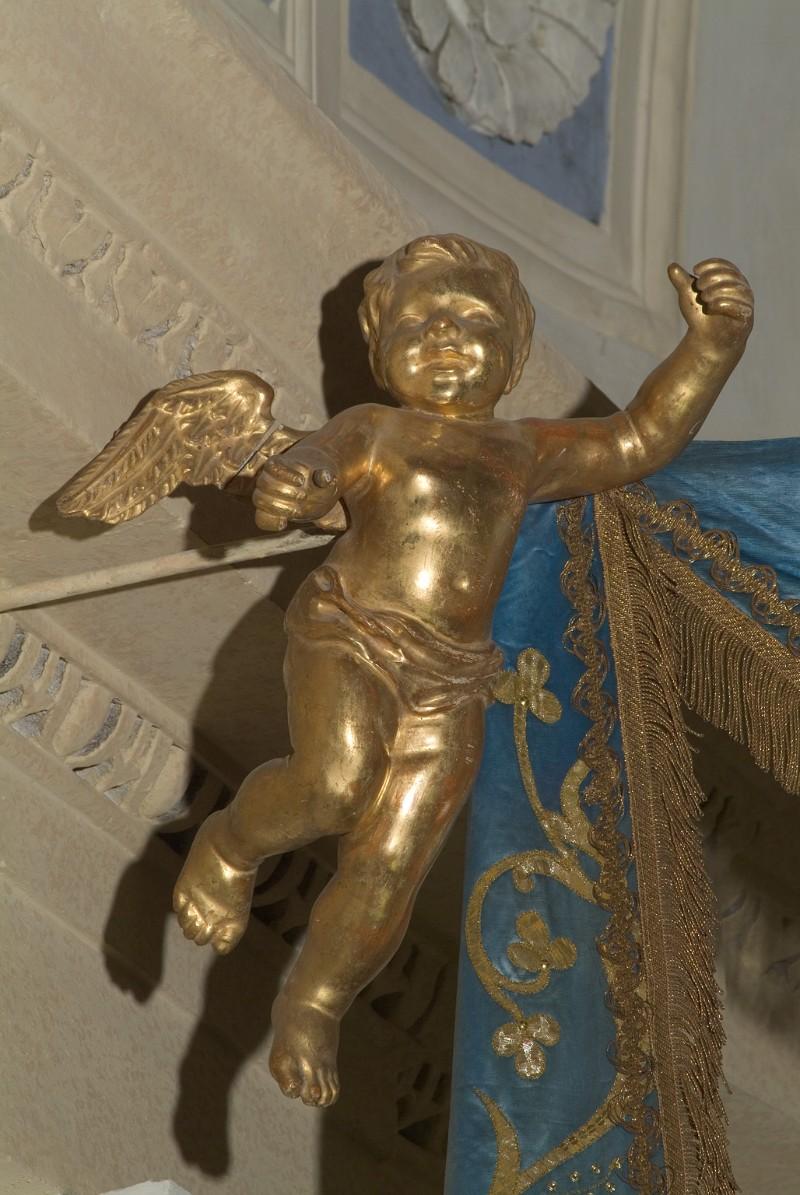 Bott. veneta sec. XIX, Angelo con braccio sinistro sollevato