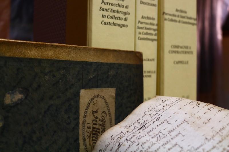 Fondo della Parrocchia di Sant'Ambrogio in Colletto di Castelmagno <Colletto (Castelmagno)>