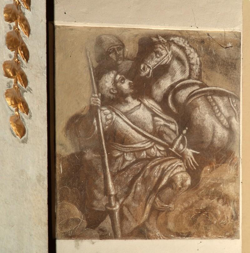 Ambito veneto sec. XIX, San Giorgio e