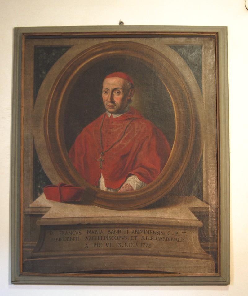 Ambito veronese sec. XVIII, Ritratto del cardinale F M Banditi