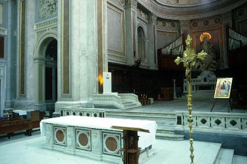 Scorcio  del  presbiterio