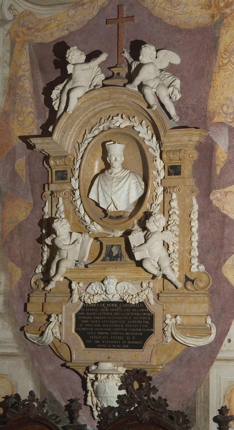 Aglio D. sec. XVII-XVIII, Monumento del cardinale Enrico Noris