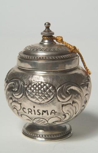 Legnaghi I. (2003), Vasetto per crisma