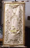 Manif. italiana sec. XIX-XX, Stendardo con corona