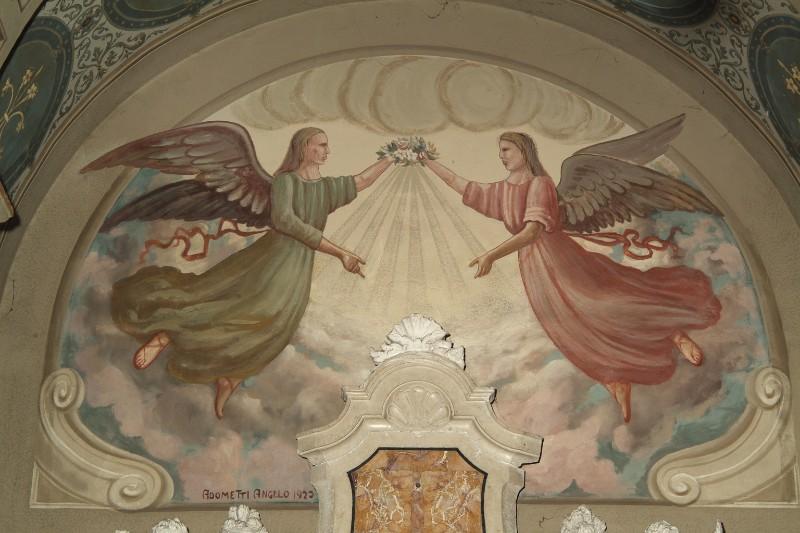 Adometti A. (1923), Angeli con ghirlanda