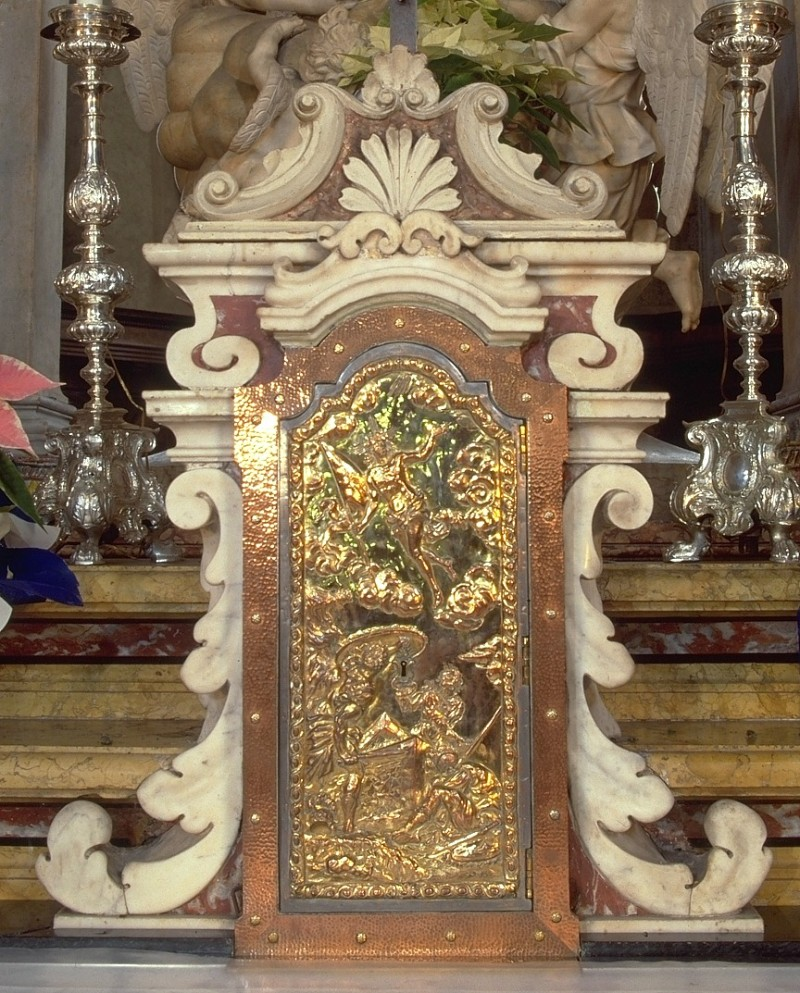 Rangheri G. B. sec. XVIII, Urna marmorea