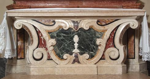 Maestranze veronesi sec. XVIII-XIX, Paliotto con calice