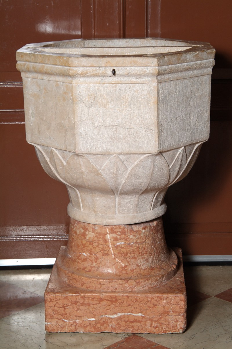 Maestranze veronesi sec. XVI, Fonte battesimale