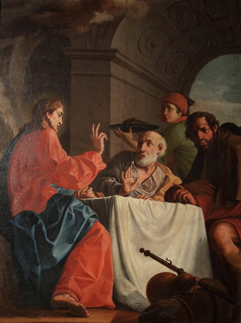 Ambito veneto sec. XVII, Cena in Emmaus
