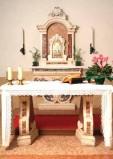 Maestranze veronesi sec. XX, Altare con nicchia