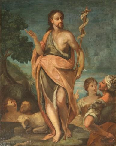 Ambito veronese sec. XVII, San Giovanni Battista