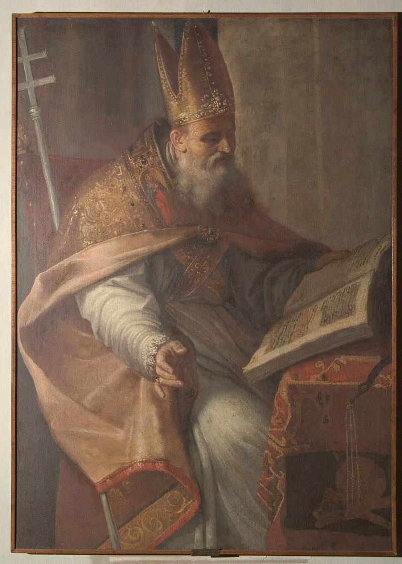 Scuola di Brusasorci F. sec. XVII, Sant'Ambrogio