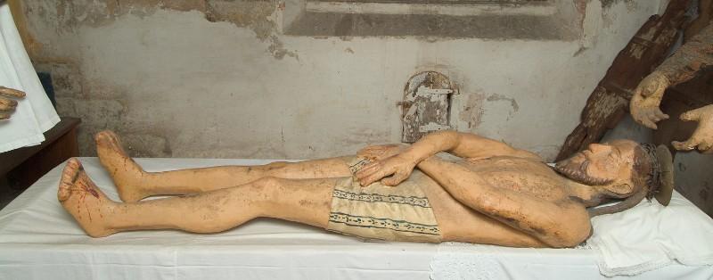 Bott. veronese sec. XVI, Gesù Cristo morto