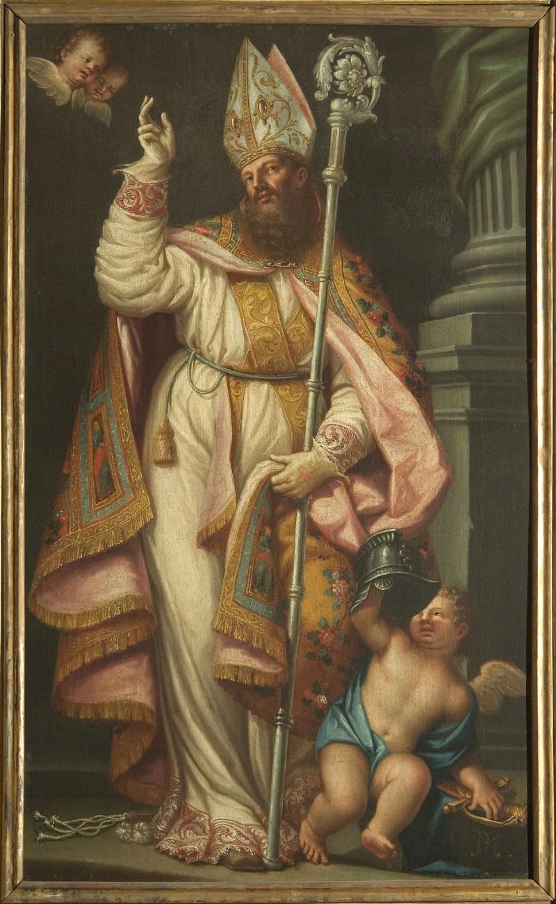 Ambito veneto sec. XVII, San Martino vescovo
