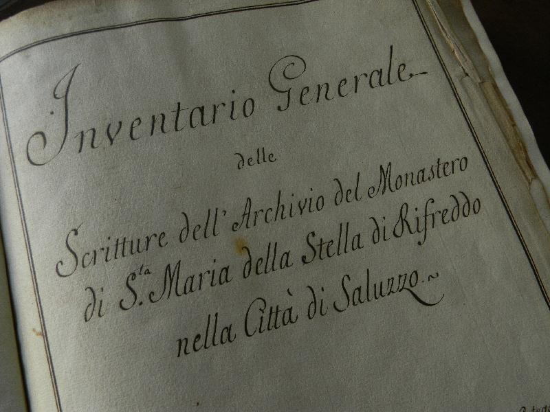 Fondo del Monastero di Santa Maria della Stella di Rifreddo  <Rifreddo, Saluzzo>