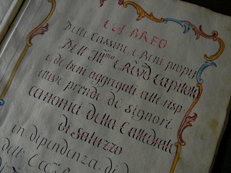 Fondo del Capitolo della Cattedrale <Saluzzo>