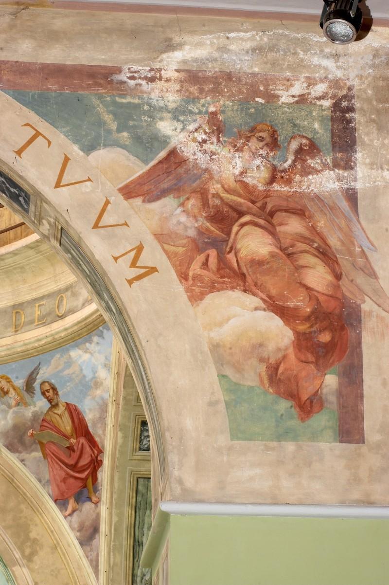 Albertella M. (1940), Angelo in volo che indica il cielo