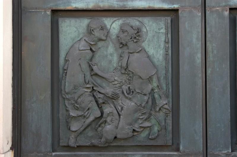 Alberti (1970), Figura insieme a San Rocco