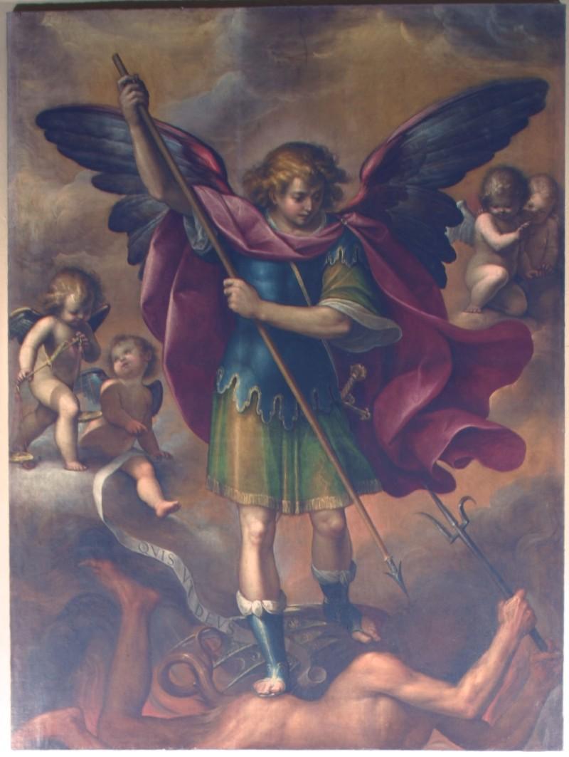 Moncalvo sec. XVI, S. Michele Arcangelo