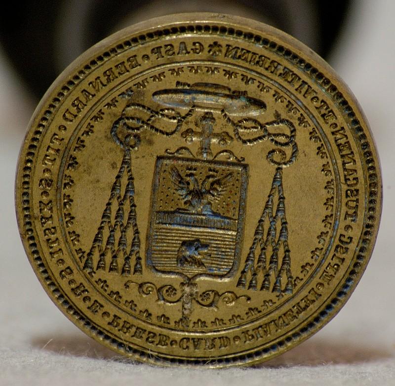 Bottega italiana sec. XIX, Sigillo del cardinale Gaspare Bernardo Pianetti 4/5