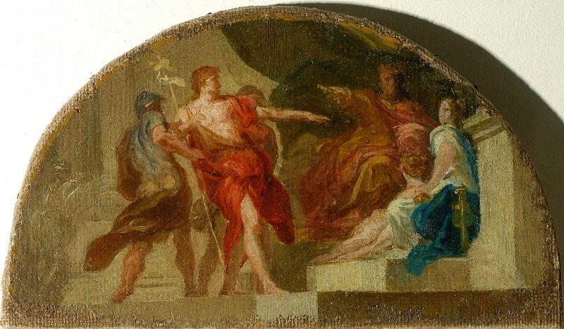 Falaschi A.A. (1756), Il Battista davanti ad Erode