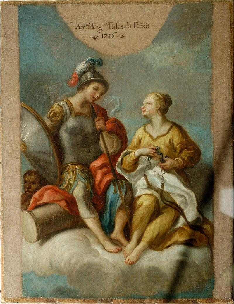 Falaschi A.A. (1756), Fortezza e Temperanza